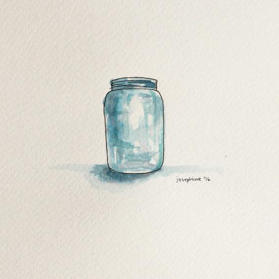 Salt water jar