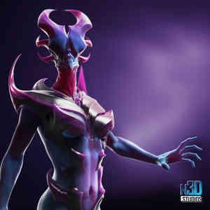 N3D-Studios_CreatureDesign_AlienPrincess
