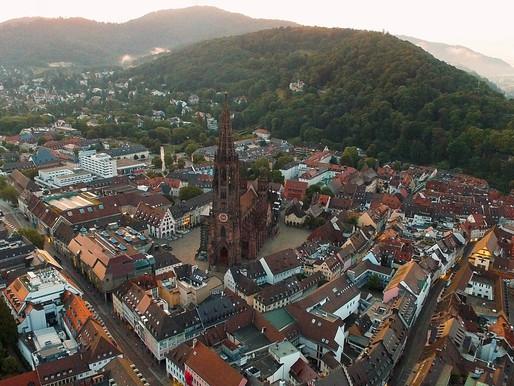 Freiburg 900 Jahre Stadtjubiläum | Freiburg Zeitreise App | Freiburg von oben | Ich bin das Münster