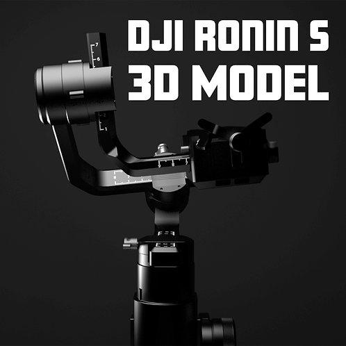 DJI Ronin S 3D Model