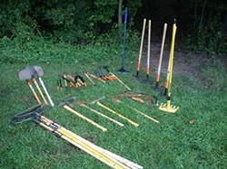 Trail Crew Tools