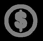 Grey moneta del dollaro