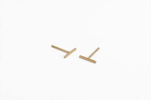 Gold Bar : Earrings