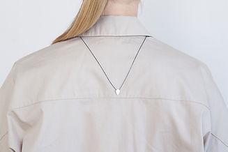 Alice Tear Teardrop silver pendant