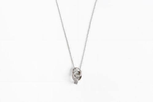 Loop : Silver Necklace