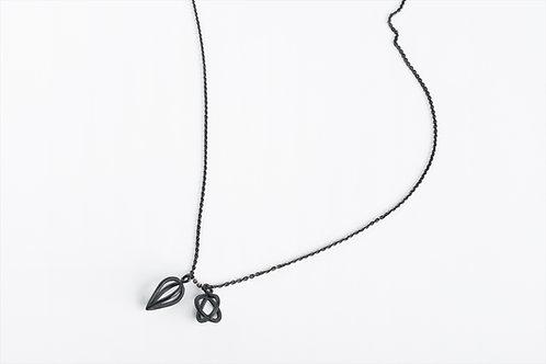 Two Tears : Pendants on Chain