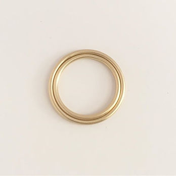 Coupling. Gold rings. #simplicity #goldr