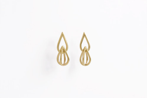 Audrey and Alice : Gold Earrings