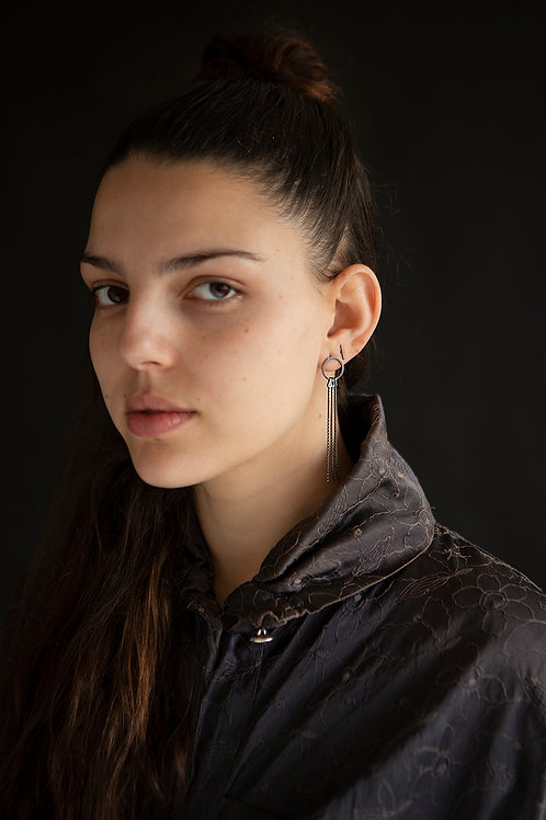 Damiel: Long Earrings