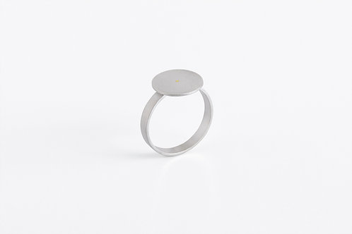 Typewriter : Silver Ring