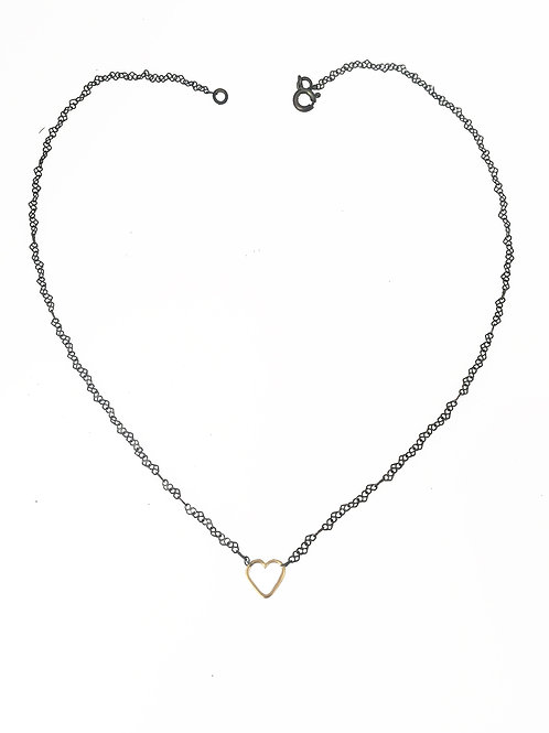 Little Hearts : Short Necklace