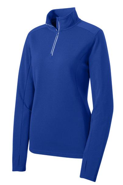 Bilstein Ladies Sport-Tek® Sport-Wick Textured 1/4-Zip Pullover