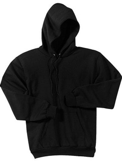 Lineshot Adult Long Sleeve Hoodie Black