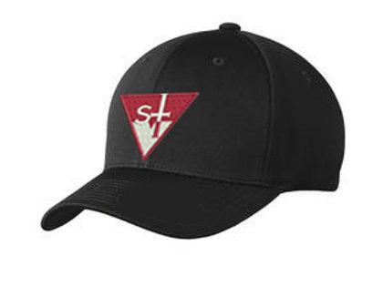 St V Flex Fit Hat-Black S, M, L, XL