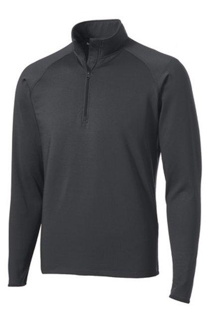 Men's Sport-Wick Stretch 1/2-Zip Pullover - Gray
