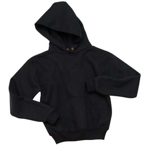 Nishime Youth JERZEES - NuBlend Pullover Hooded Sweatshirt-Black