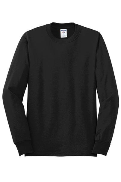 Nishime Youth JERZEES -50/50 Long Sleeve T-Shirt-Black