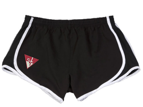 St V Girls/Women's Sport Shorts - Black