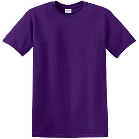 Lineshot Adult T-Shirt Purple