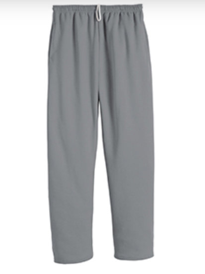 Nishime Youth JERZEES NUBLEND POCKETED OPEN BOTTOM SWEATPANT-Oxford