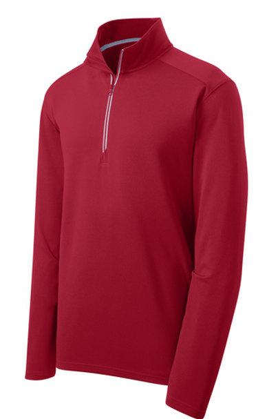 Men's Sport-Wick Textured 1/4-Zip Pullover