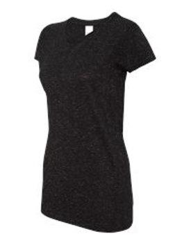 Ladies Glitter Shirt - Black