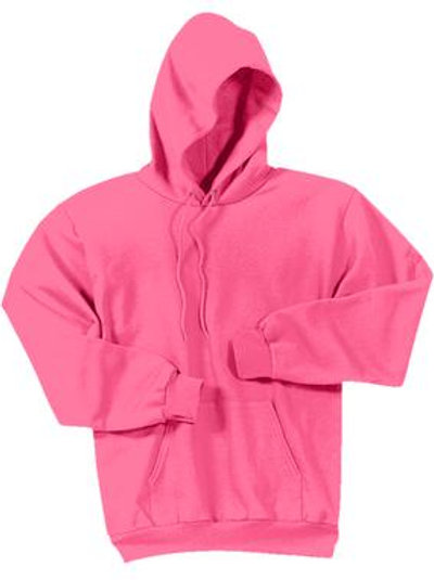 Lineshot Adult Long Sleeve Hoodie Pink