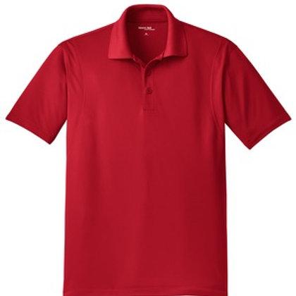 Men's Micropique Sport-Wick Polo - Red