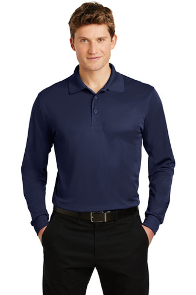 GTP Long Sleeve Micropique Sport-Wick Polo