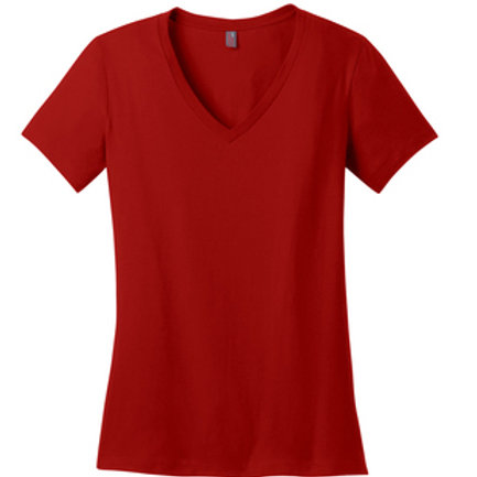 Ladies Perfect Weight® V-Neck Tee