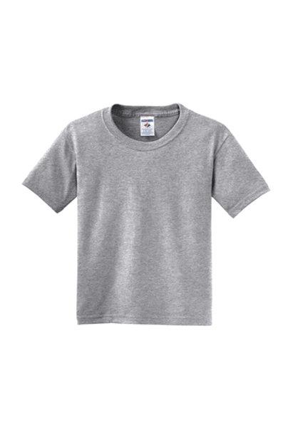 Nishime Youth JERZEES -50/50 Short Sleeve T-Shirt-Athletic Heather
