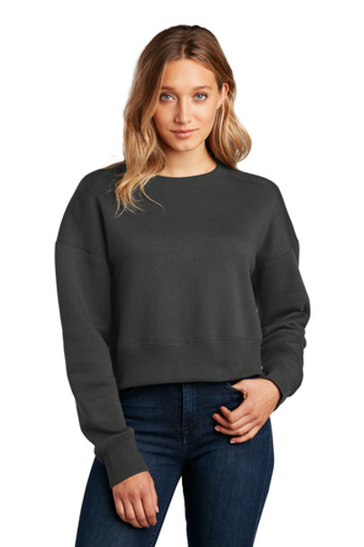 Cincinnati Traditions Women's Perfect Weight® Fleece Cropped Crew