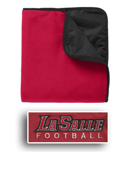 Fleece Blanket - Red/Black