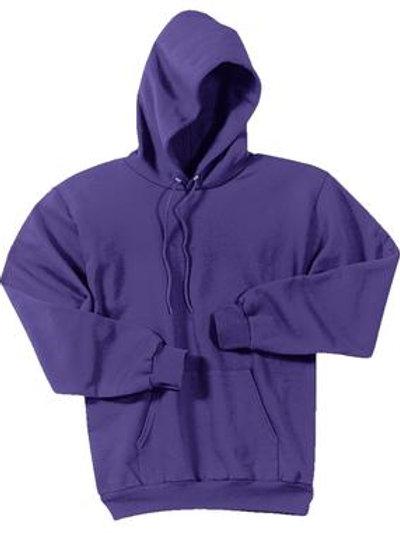 Lineshot Adult Long Sleeve Hoodie Purple