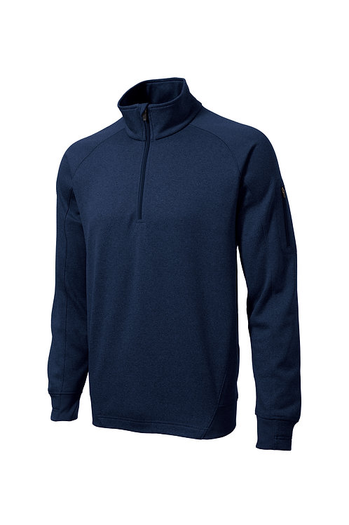 HCC_Long Sleeve Fleece 1/4-Zip Pullover