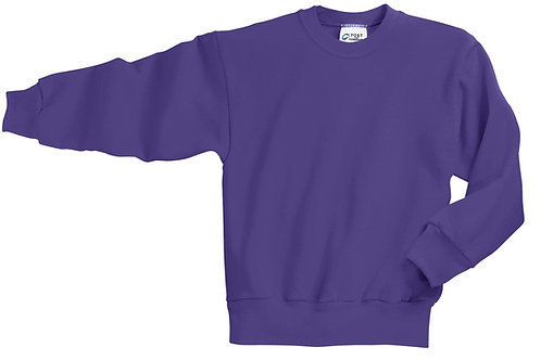 Lineshot Youth Core Fleece Crewneck Sweatshirt-Pink
