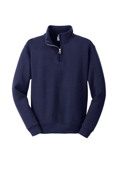 St. I Adult JERZEES - NuBlend 1/4-Zip Cadet Collar Sweatshirt