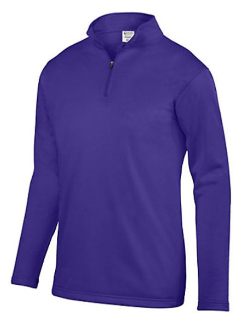 Lineshot Youth & Adult Wicking Fleece Pullover-Purple