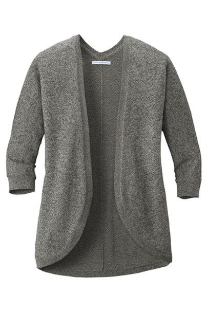 thyssenkrupp Ladies Marled Crew Sweater