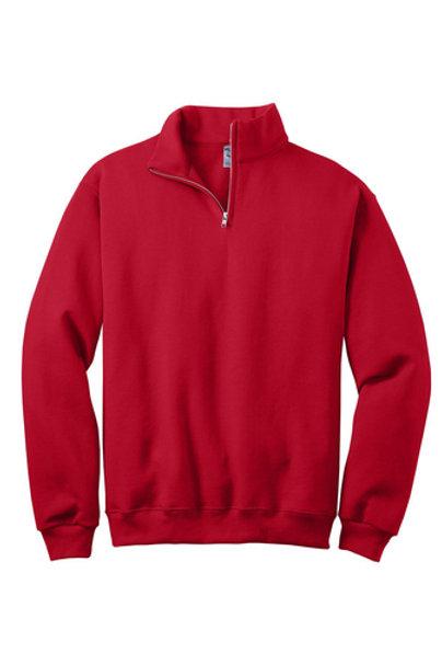 St Vivian 1/4-Zip Cadet Collar Sweatshirt-Adult