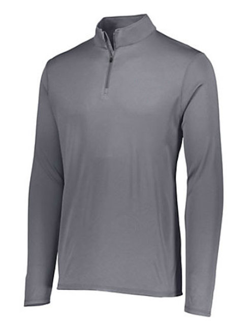 St. V Mens 1/4 Zip Wicking Fleece Pullover