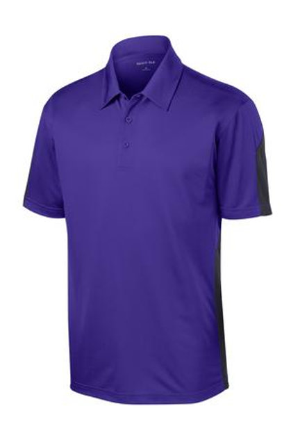 Lineshot Men's Polo Purple