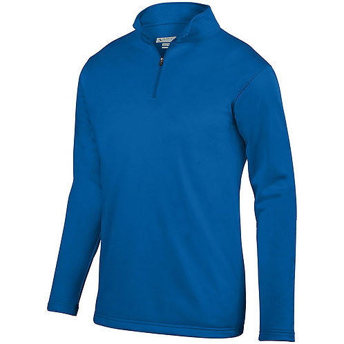St. Joseph Augusta Youth Wicking Fleece Pullover -Royal Blue
