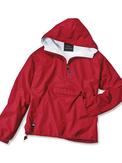 Classic Solid Pullover - Red