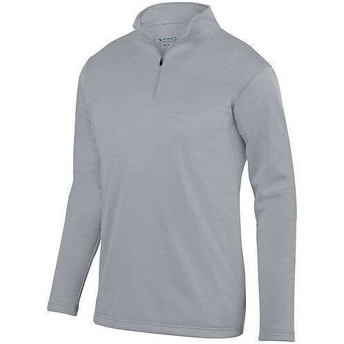 St. Joseph Augusta Youth Wicking Fleece Pullover -Gray