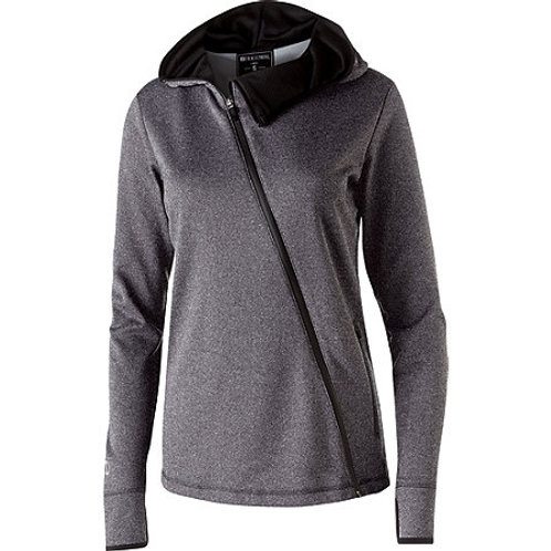 LADIES' ARTILLERY ANGLED JACKET- Gray w/Black