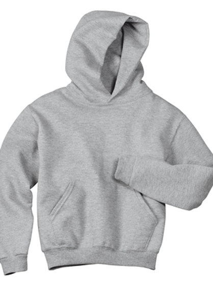 Nishime Youth JERZEES - NuBlend Pullover Hooded Sweatshirt-Oxford