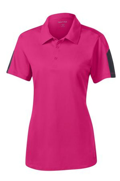 Lineshot Women's Polo Pink