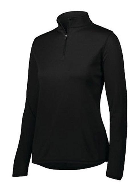 St. V Womens 1/4 Zip Wicking Fleece Pullover