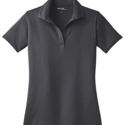 Ladies Micropique Sport-Wick Polo - Gray